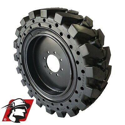 12x16.5 Maximizer Gt Tire Skid Steer Solid Tires For Cat 4 Tireswheels 33x12-20