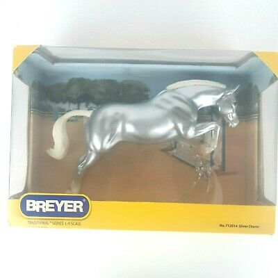 Bryer Medalist Series Silver Charm 712014 Equestrian Horse 350 Made Mold #712
