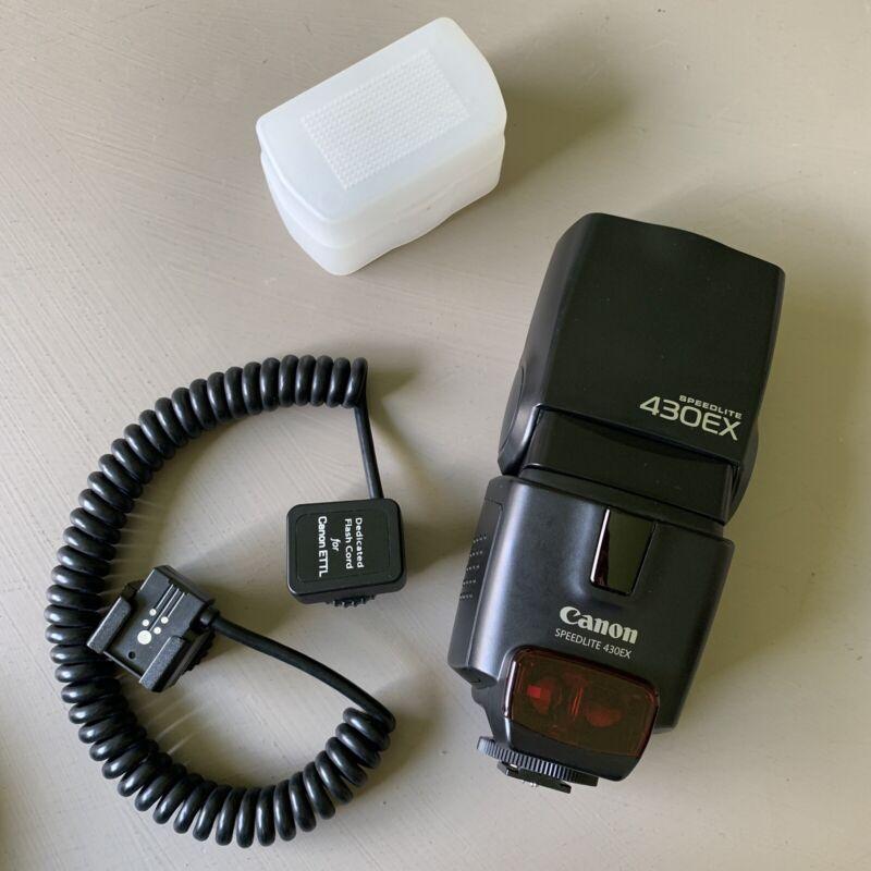 Canon 430EX Speedlite Flash & Accessories