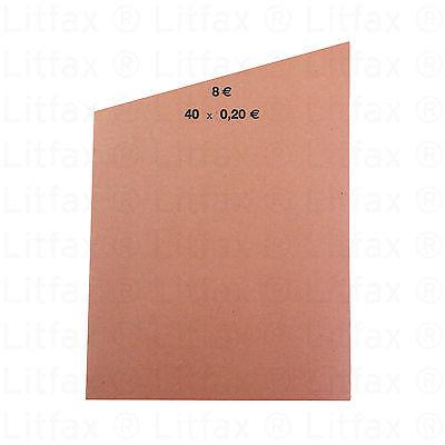 Handrollpapier, Münzrollpapier,  1000 Stück, verschiedene Ausführungen