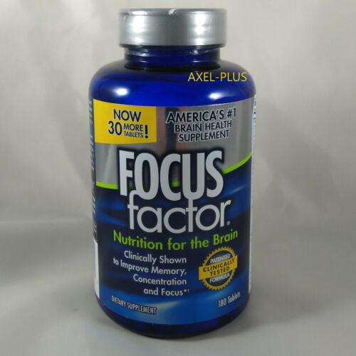 FOCUS Factor Brain Nutrition Supplement 180 ct