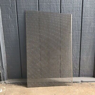 18 Gauge Perforated Steel Sheets .156 Hole 316 Stagger