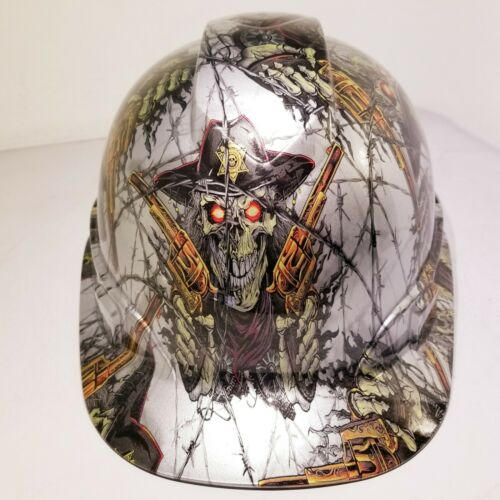 Hard Hat custom hydro dipped , OSHA approved DIRTY DIRTY HARRY OLD WEST NEW