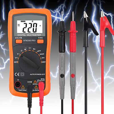 Digital Lcd Multimeter Ac Dc Voltmeter Ammeter Ohmmeter Volt Tester Diodes Meter