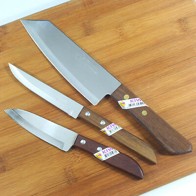 KIwi Brand Quality Chef Knives Saving Set2 No.501 503 171 Kitchen Cook Stainless for sale  Shipping to Canada