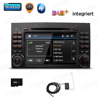 DAB+ GPS Navi Autoradio DVD Für Mercedes Benz B A Klasse W245 W169 Sprinter W906