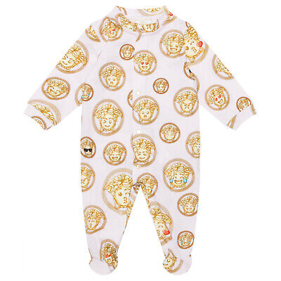 Young Versace Babygrow Summer 2020 BNWT RRP £138.  Age 3 months. PINK.