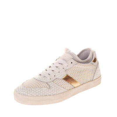 RRP €150 D.A.T.E. Sneakers Size 39 UK 6 US 8 Contrast Leather Textured Mesh