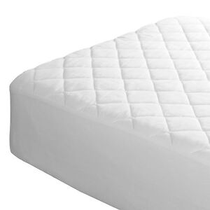 4ft quilted mattress protector 3 4 size for three quarter