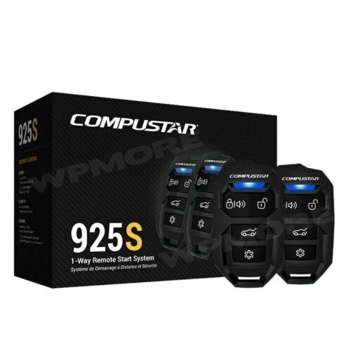 Compustar CS925-S 1-Way 1500-FT Range Remote Start Keyless Entry System CS920-S
