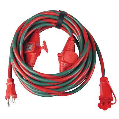 Snow Joe Indoor / Outdoor Extension Cord   25-Foot   Cord Connect Adapter