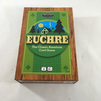 New  Euchre The Classic American Card Game Front Porch Classics