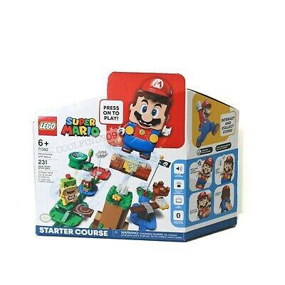 LEGO Super Mario Adventures Mario Starter Course 71360 IN STOCK - SHIPS NEXT DAY