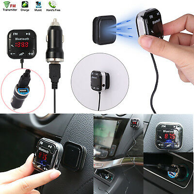 Bluetooth FM Transmitter Auto Audio Receiver SD MP3 USB Car Kit Freisprechen DE Car Audio Fm Transmitter