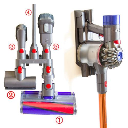 For Dyson V7 V8 V10 Wall Mount 5 Accessory Tool Attachment S