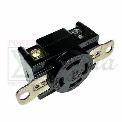 Nema L14-30r 30a 125v250v Twist Locking Electrical Plug Female Wall Receptacle