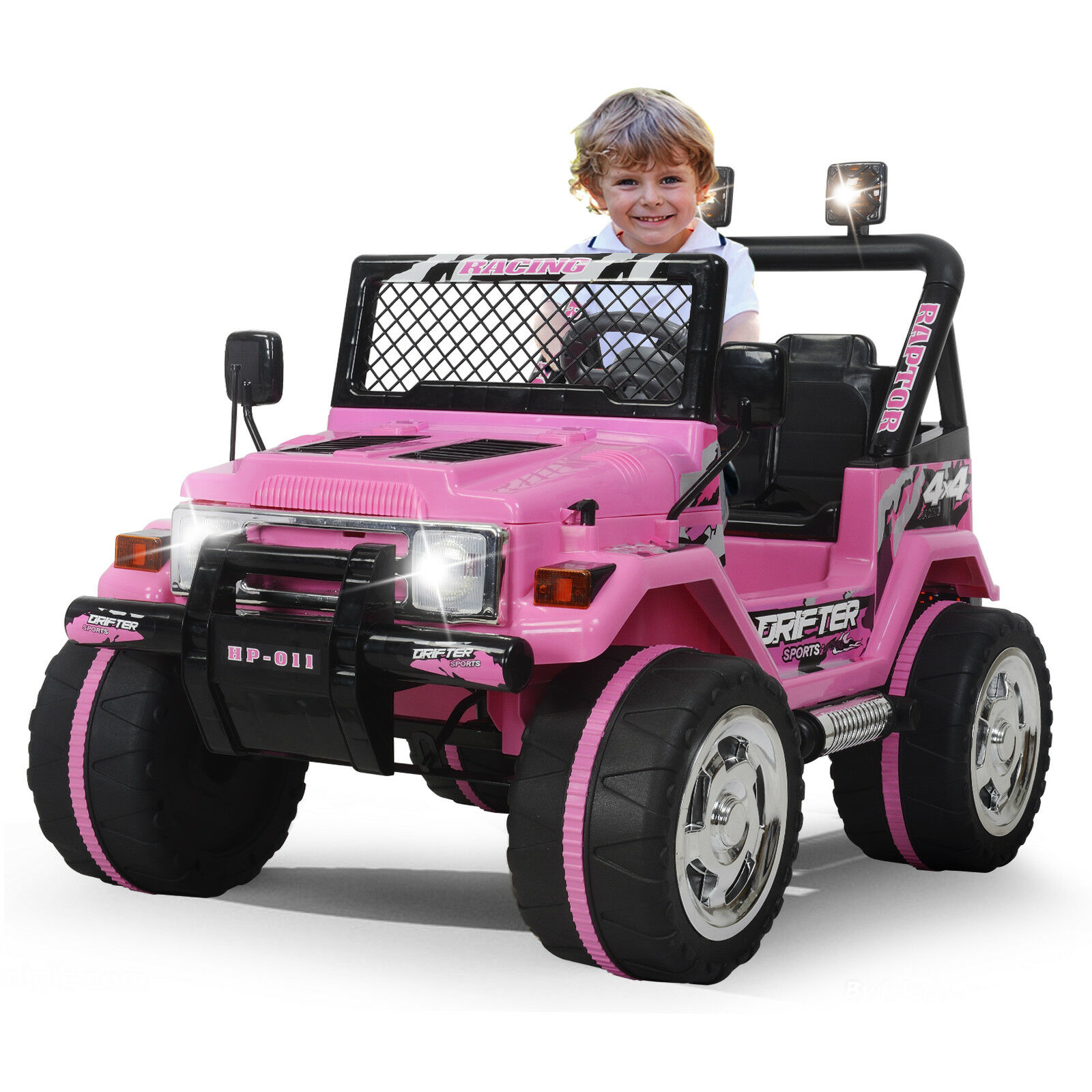Kids Ride On Car Jeep 12V Electric Power Wheels Remote Contr
