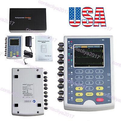 Multi Parameters Simulator Patient Ecg Ms400 Contec Machine Touch Portable Usa