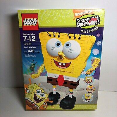 LEGO Spngebob Squarepants Set - Build-A-Bob (3826) BRAND NEW!