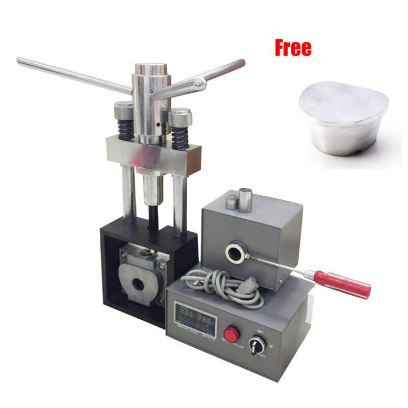 Dental Flexible Denture Injection Partial Machine Heater Press Duplicating Flask