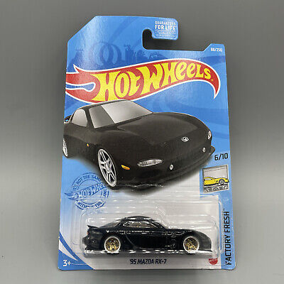 Hot Wheels 2021 Custom  '95 Mazda RX-7  L case- LODC wheels
