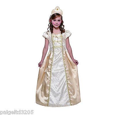 Totally Ghoul Golden Princess Girl's Halloween Costume  Large Size 10-12 / Gold (Golden Girl Halloween Kostüm)