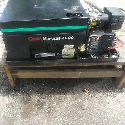 Onan Marquis 7000 Watt Generator Rv Motorhome Generator Only179hrs