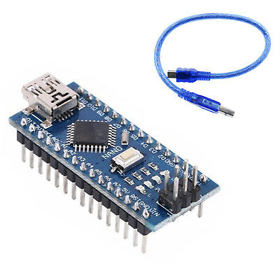 USB Nano V3.0 ATmega328 16M 5V Micro Controller CH340G Board For Arduino SS0511