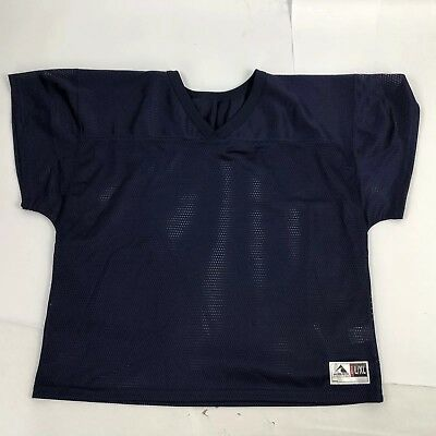 Augusta Sportswear Mesh Short Sleeve Football Jersey Navy Blue Size L/XL - 2XL - Augusta Sportswear Mesh Shorts