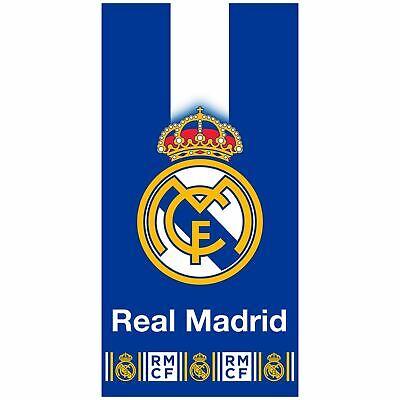 Real Madrid Cf Azul Crest Toalla Baño Playa Piscina Grande