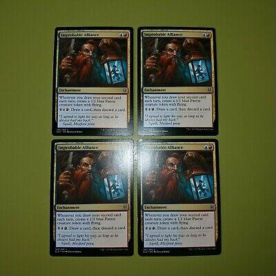 Improbable Alliance x4 Throne of Eldraine 4x Magic the Gathering MTG