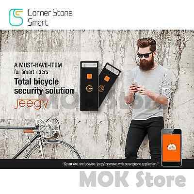 JEEGY Smart riders security Anti-Theft Device Bike Bicycle Burglar Alarm