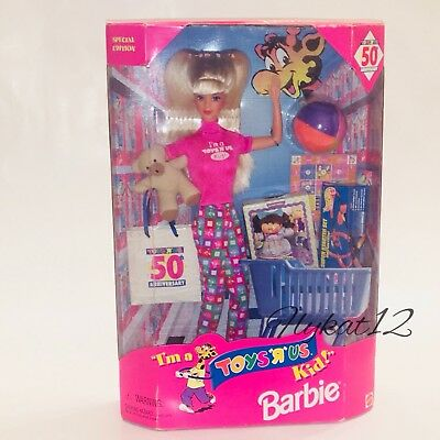 Toys R Us Special Edition 1997 Mattel Barbie 50th Anniversary Doll #18895