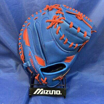 "34"" Mizuno GXC50PSE3 Baseball Catcher/'s Mitt Black//Orange"