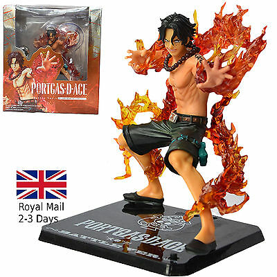 "Anime One Piece Portgas D Ace 5.9"" Action PVC Figure Figurine UK SELLER"