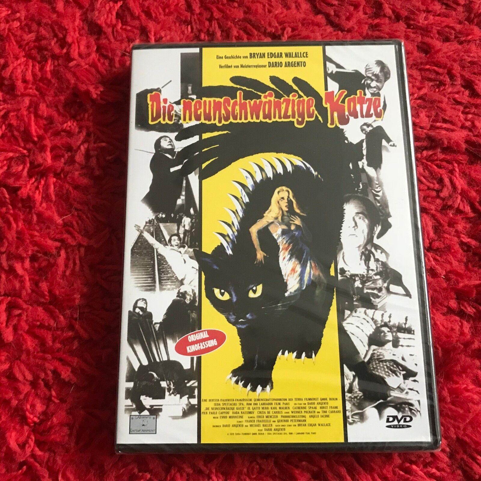 DIE NEUNSCHWÄNZIGE KATZE Original deutsche DVD Neu und Ovp