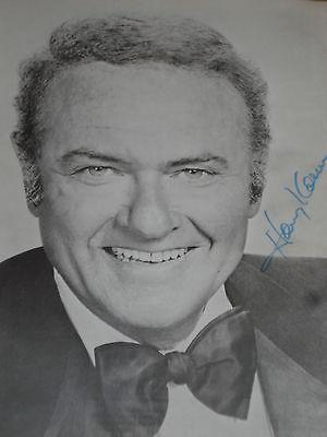 rare HARVEY KORMAN Autographed theatre program ORIGINAL Authentic