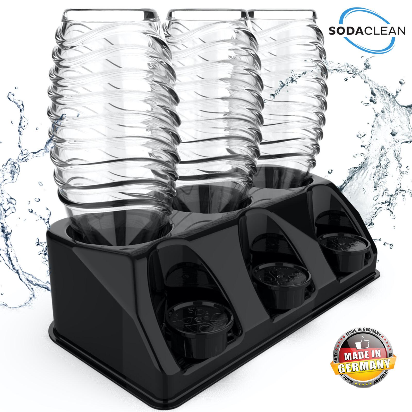 SodaClean® Flaschenhalter Abtropfhalter Sodastream Crystal DUO Aarke Easy Power