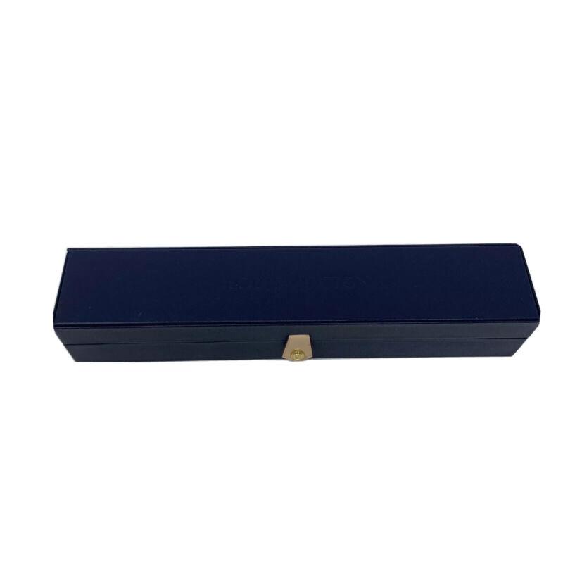 Authentic Rare Louis Vuitton Navy Blue Bracelet Case Only