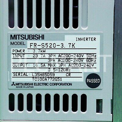 (USED) Mitsubishi FR-S520-3.7K free shipping!