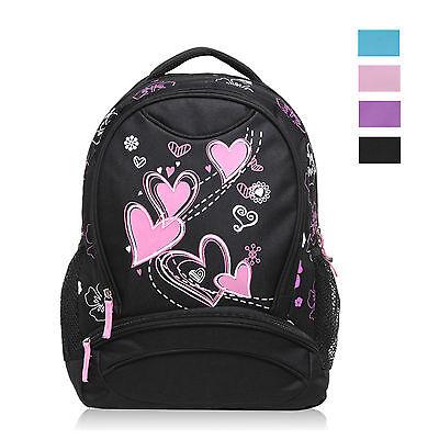 Love Heart Printing Kids Satchel Children School Bags for Girls Boys Backpack - Bags For Kids