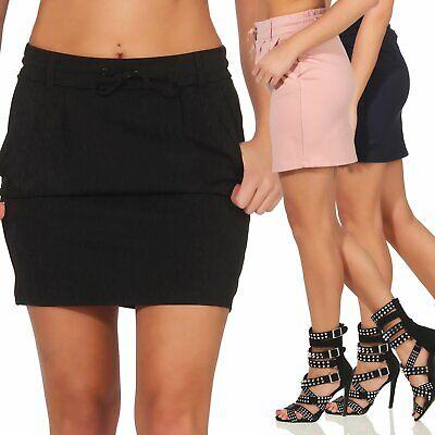 Mini-bleistift-rock (Only Damen Rock Damenrock Minirock Mini Bleistiftrock Sommerrock Poptrash Skirt)