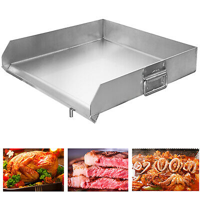 Stainless Steel Heavy Flat Top Griddle Grill For Home Singletriple Burner Stove