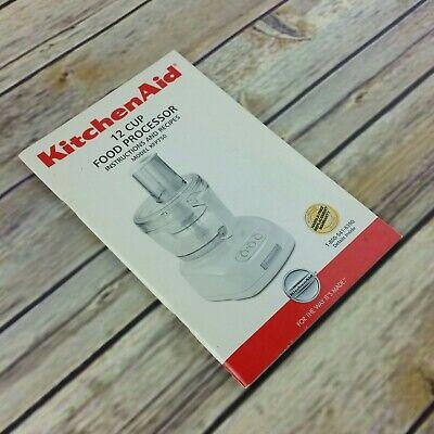 Kitchen Aid 12 Cup Food Processor Manual KFP750 Cookbook 2004 dZw404