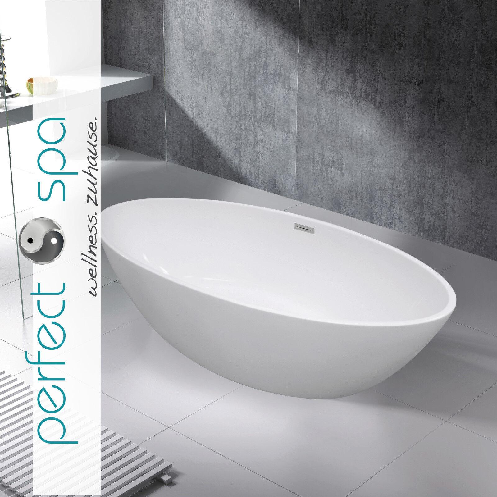 LUXUS Design Freistehende Badewanne Turin Wanne