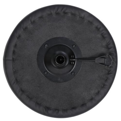 Adjustable Multi-Purpose Drafting Spa Bar Rolling Stool with Wheels Black Health & Beauty