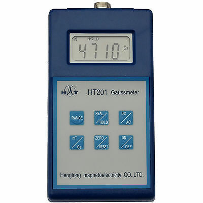 Ht Digital Gaussmeter With Peak Hold - Can Display Gauss Or Tesla Dc Ac Meter