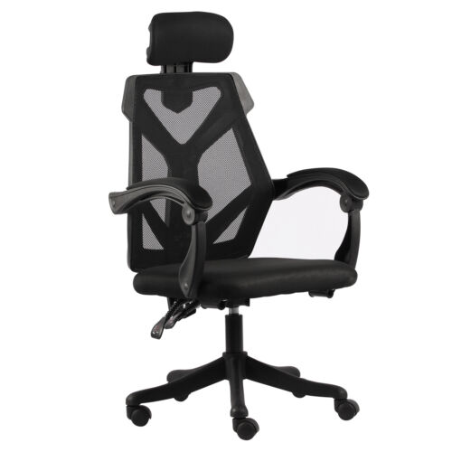 440Lbs Swivel Home Office Chair Ergonomic Executive Computer Desk Mesh Recliner
