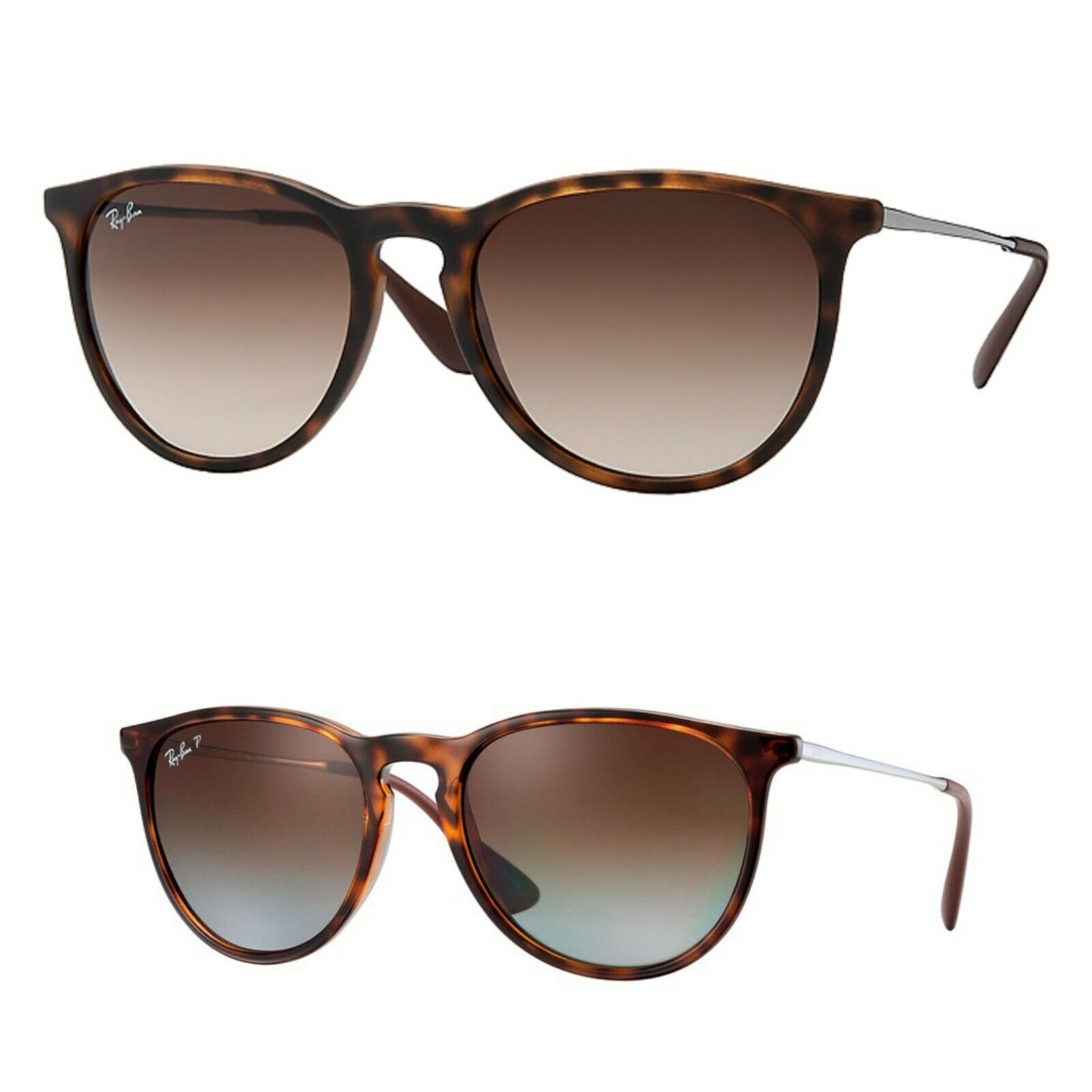 Ray-Ban Erika RB4171 Classic Tortoise Polarized and Non-Pola