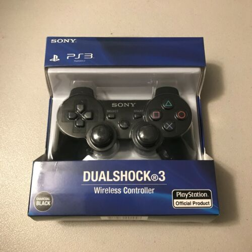 Sony DualShock 3 Wireless Controller for PlayStation 3 PS3 - Black - Brand New